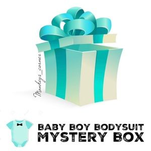 Other - MYSTERY BOX⚡️5 Pcs Baby Boy Bodysuit_0-6 months